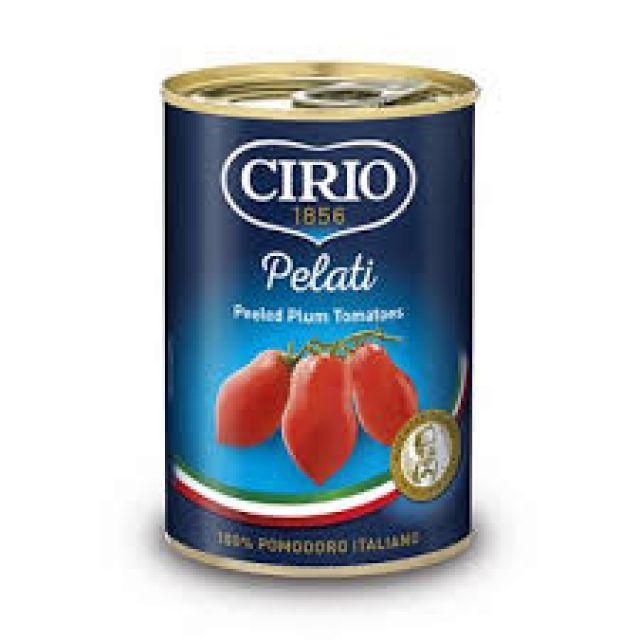 Plum Tomato Peeled  Cirio Tin