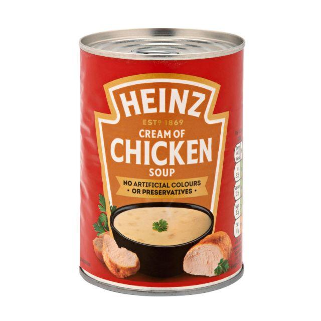 Soup Heinz Cream Of Chicken Tin