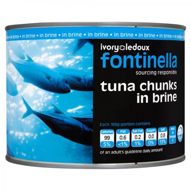 Tuna Chunks Frontinella 185gTin