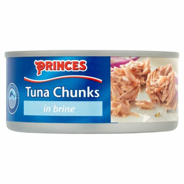 Tuna Chunks In Brine 160g Princes