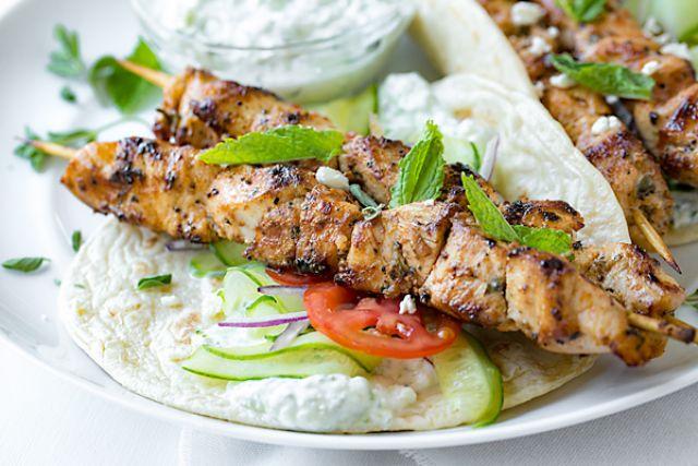 Large Chicken Kebab