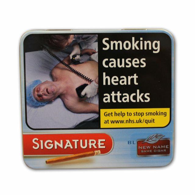 Signature Blue 10 Cigars