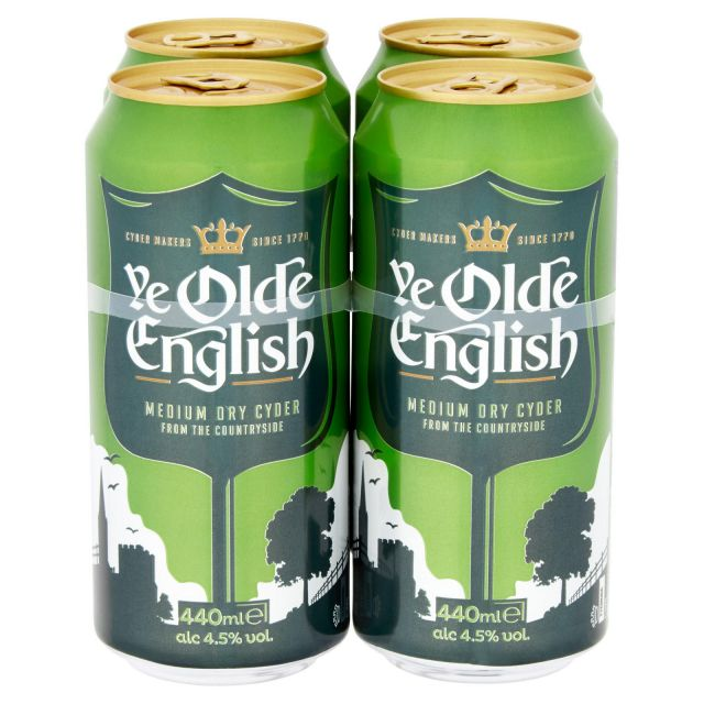 Ye Olde English Cider 4 x 440ml Cans