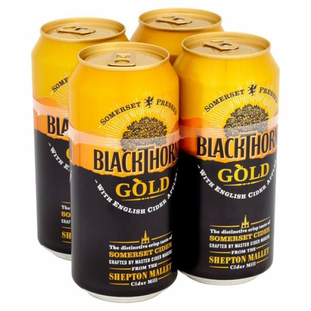 Blackthorn Cider 4 x 500ml Cans