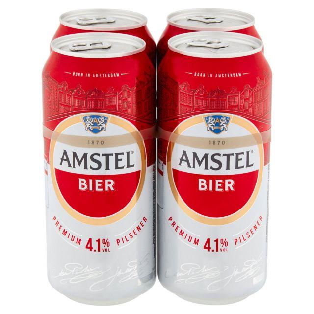 Amstel Bier 4 x 440ml Cans