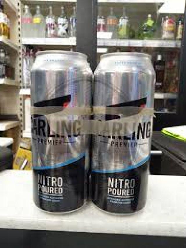 Carling Premier Beer 4 x 500ml Cans