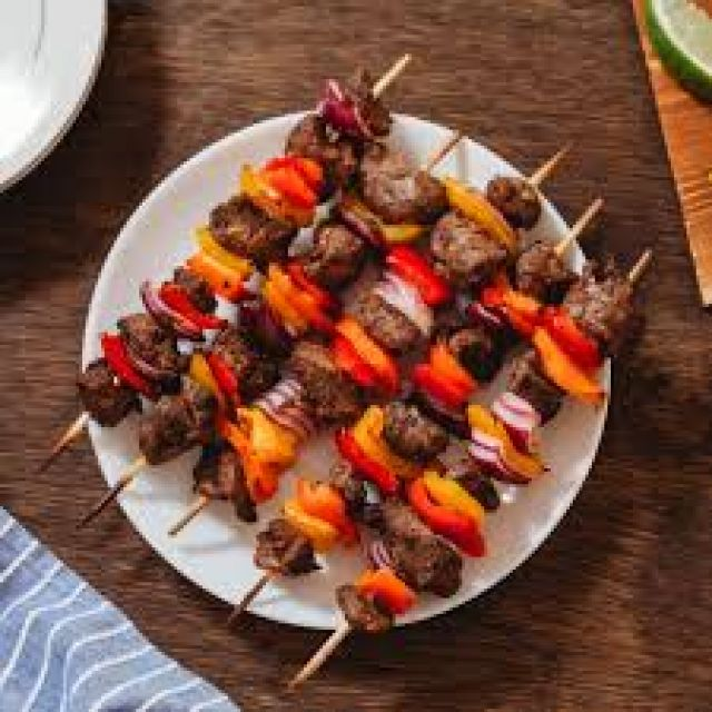 Sheesh Kebab (4-Pieces)