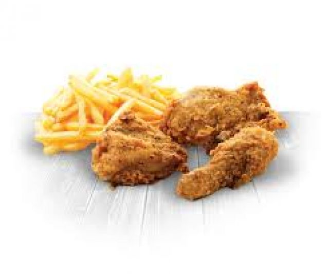 3 Pieces Chicken & Fries