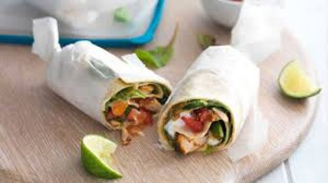 Chicken Tikka Kebab Roll