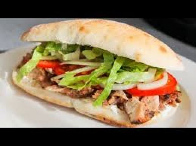 Chicken Donner Kebab Roll