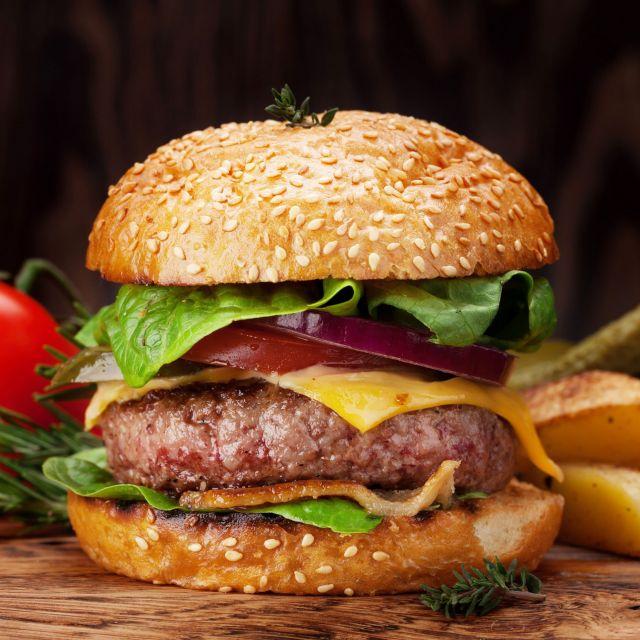 1/4 Beef Burger