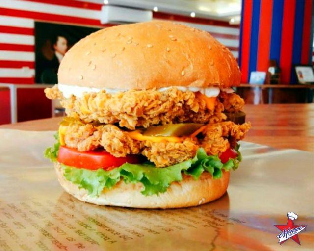 1/2 Chicken Fillet Burger