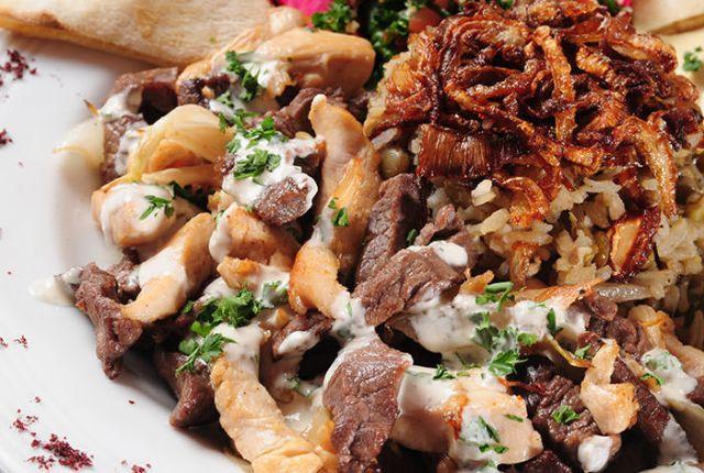 Large Mixed Doner Kebab