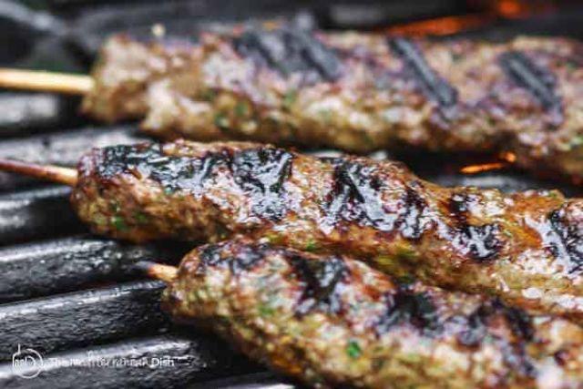 Regular Lamb Kofte Kebab