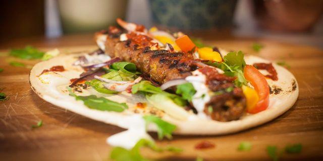 Regular Chicken Kofta Kebab