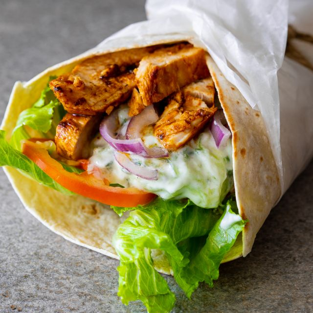 Regular Chargrilled Chicken Wrap