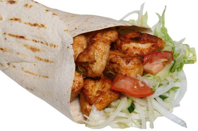 Chicken Shish Wrap