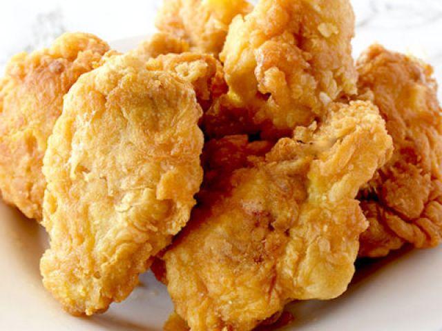 6 Fried Chicken Wings