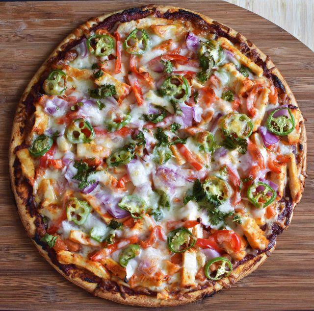 Tandoori Hot Pizza