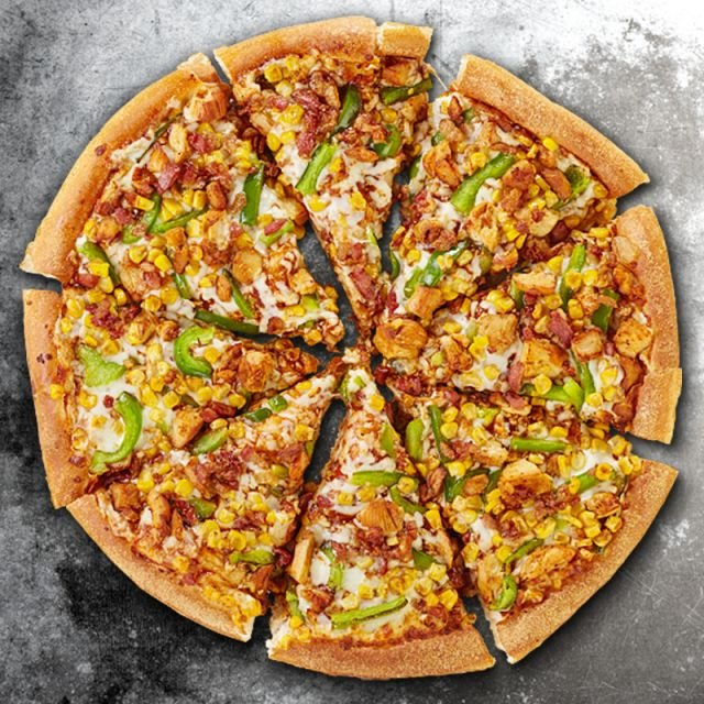 Texas BBQ Chicken Pizza