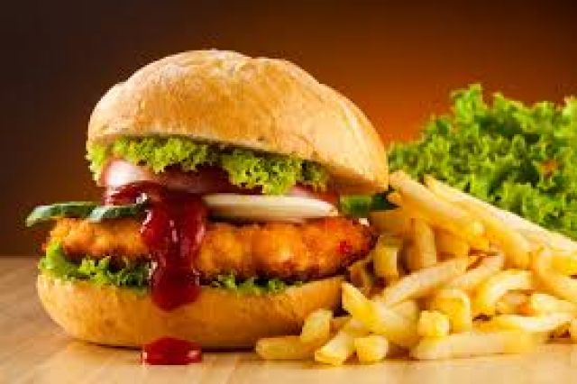 Chicken Spicy Burger
