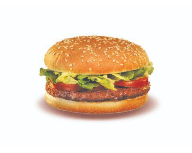 Lamb Burger Meal