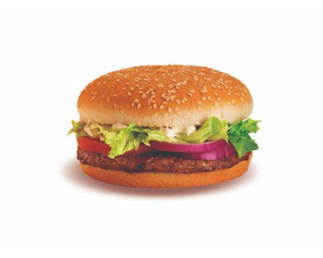 Lamb Quarter Burger Meal