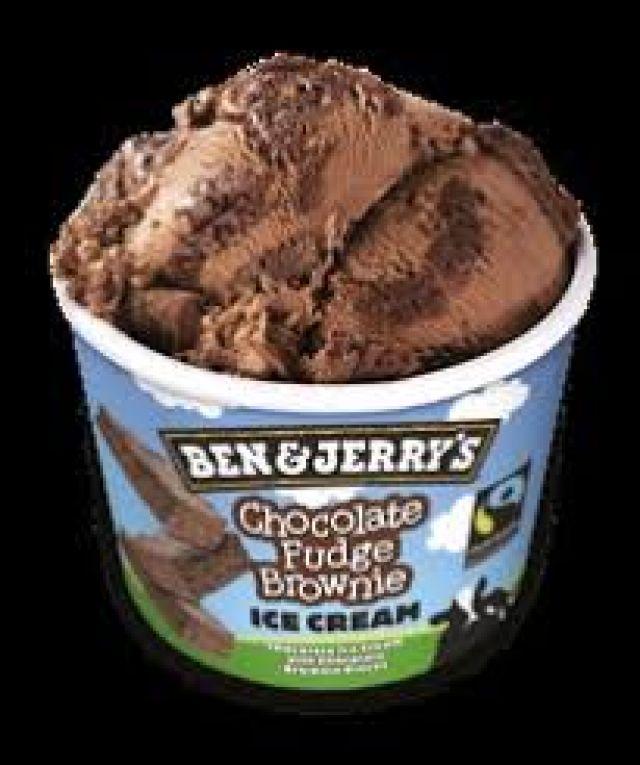 Ben & Jerry's Ice Cream - Chocolate Fudge Brownie