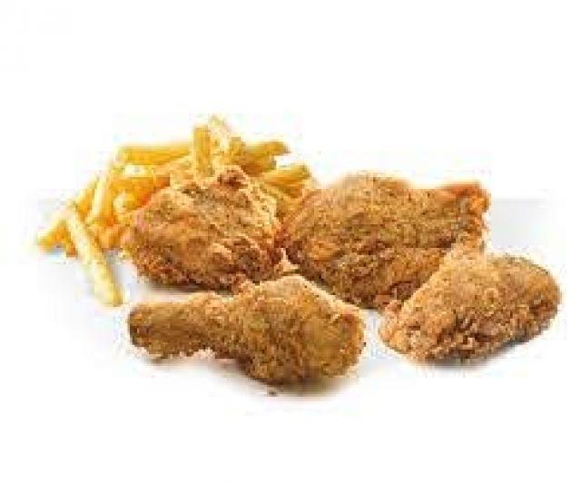 4 Pieces Chicken & Fries