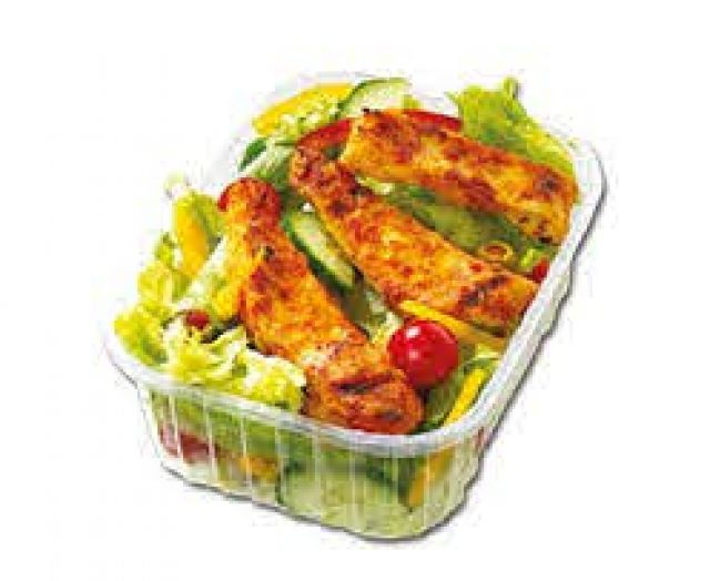 Peri Peri Strips & Salad