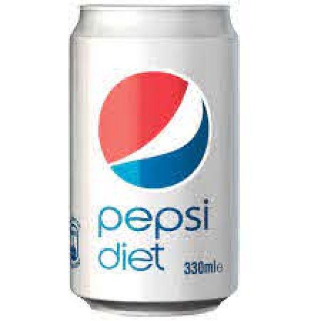 Diet Pepsi Can