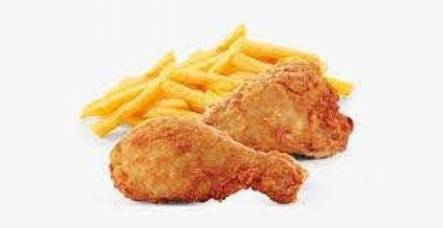 2 Pieces Chicken & Fries