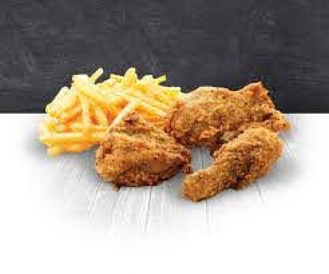 3 Pieces Chicken & Fries