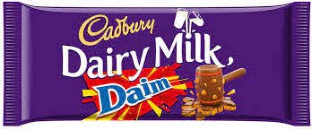 Cadbury Dairy Milk Daim Bar