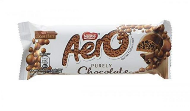 Nestle Aero Purely Chocolate