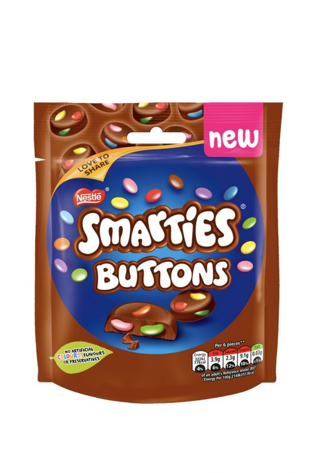 Nestle Smarties Buttons
