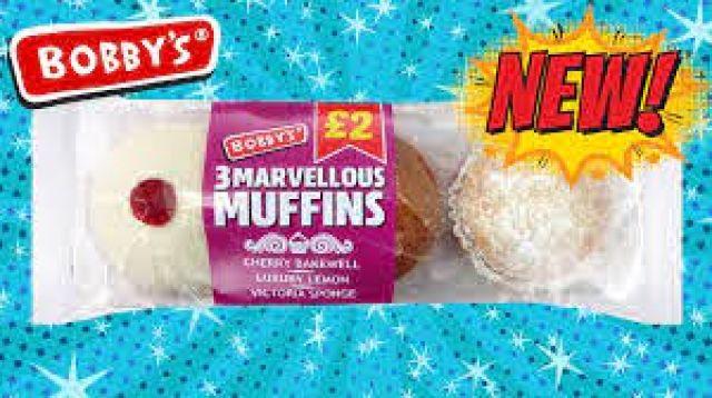 Bobby's 3 Marvellous Muffins