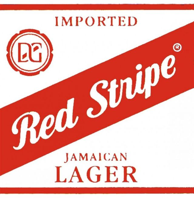 Red Stripes Beer 4 Cans