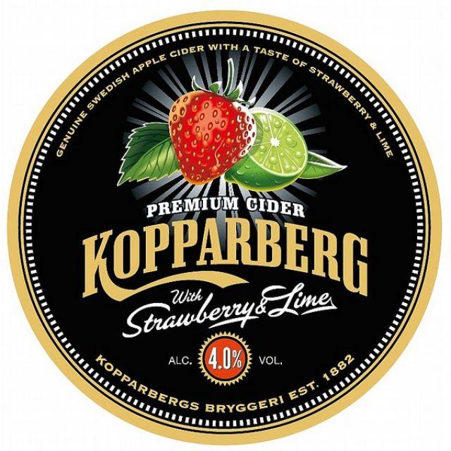 Kopparberg Strawberry & Lime Bottle