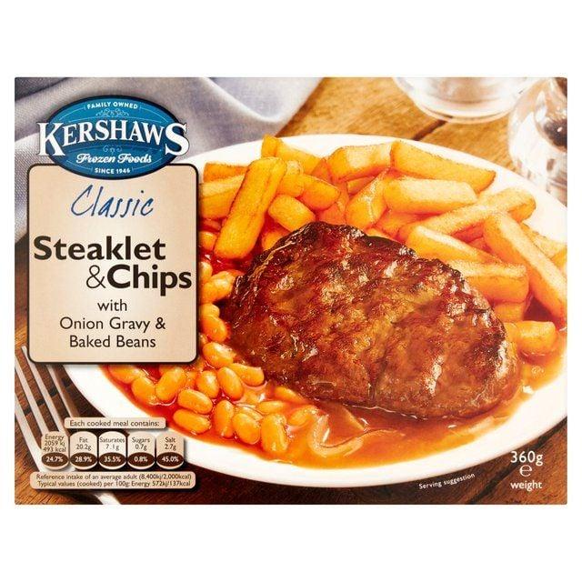 Kershaws Steaklet & Chips