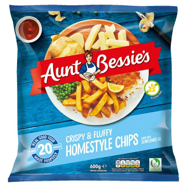 Aunt Bessie's Crispy & Fluffy Home Style Chips