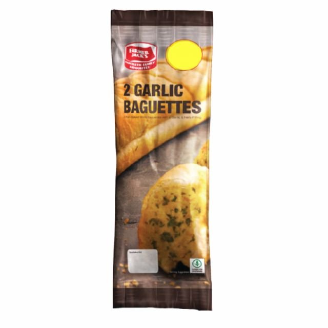 Farmer Jack's 2 Garlic Baguettes