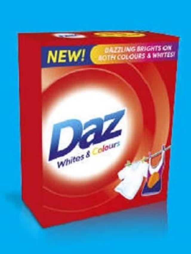 Daz Whites & Colours
