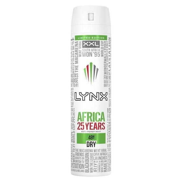 Lynx Africa Anti-Perspirant