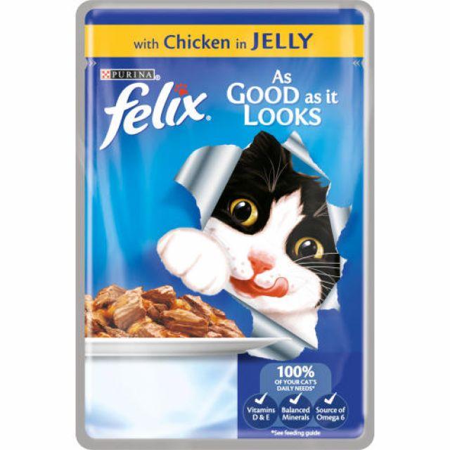 Felix Chicken Jelly Sachet