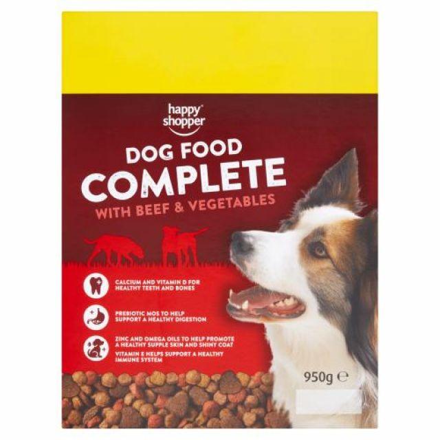 Happy Shopper Dog Food Beef & Vegetables