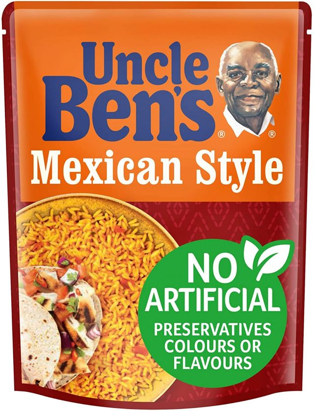 Uncle Bens Mexican Style Rice 250g
