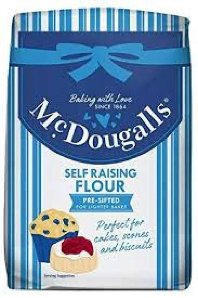 McDougalls Self Raising Flour 1k