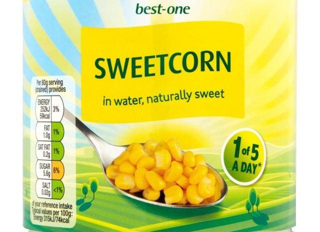Best-one Tin Sweetcorn