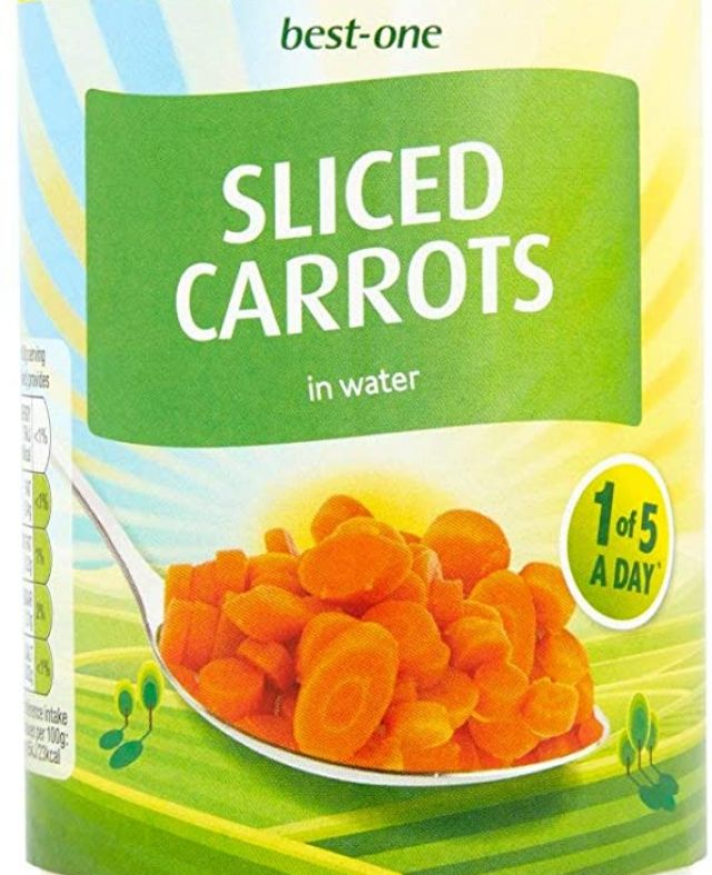 Best-one Sliced Carrots